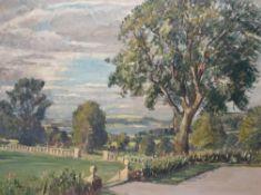 λ Lord Methuen (British 1886-1974), East Harp Tree