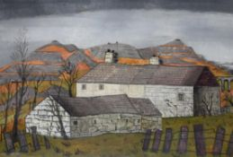λ Fred Uhlman (British 1901-1985), Welsh Cottages