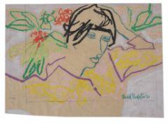 λ Muriel Pemberton (British 1909-1993), Lady with red fingernails; together with three others (4)