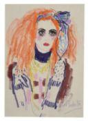 λ Muriel Pemberton (British 1909-1993), Seated lady; together with three further pastels (4)