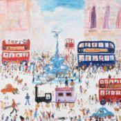 λ Simeon Stafford (British b. 1956), Piccadilly Chaos