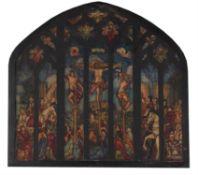 λ Wilfred Gabriel de Glehn (British 1870-1951), Study for a stained glass window