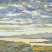 λ Alan Cotton (British b. 1936), Connemara - Dawn over the bay