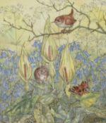 λ Molly Brett (British 1902-1990), A Springtime Meeting