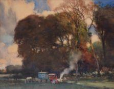 λ Fernand Toussaint (Belgian 1873-1956), Les Roulettes