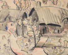 Henry William Phelan Gibb (British 1870-1948), Gardens and houses