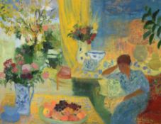 λ Nancy Delouis (French b. 1941), En Fin de Journee