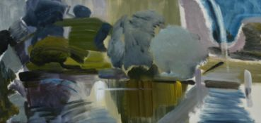 λ Ivon Hitchens (British 1893-1979), Wittenham Clumps from Day's Lock