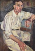 λ Edward Wolfe (British 1897-1981), Portrait of Barclay Donne