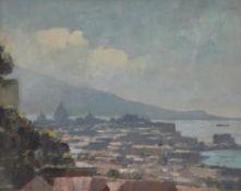 λ Edward Seago (British 1910-1974), A panoramic view of Sorrento, Italy