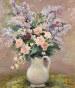 λ Marcel Dyf (French 1899-1985), Roses et Lilas