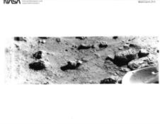 The first photograph of the Martian surface and the lander's self-portraits [19], Viking 1&2, 1976