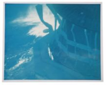 Underwater view of the recovery [large format], Mercury Atlas 4, September 1961