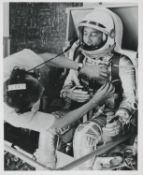 Gus Grissom preparing for the second US manned space flight [2], Mercury-Redstone 4, May-July 1961