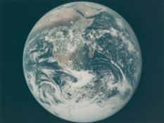 The 'Blue Marble', the first photograph of the full Earth seen by humans, Apollo 17, December 1972