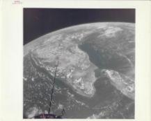 Earth from space: India and Sri Lanka, Gemini 11, September 1966