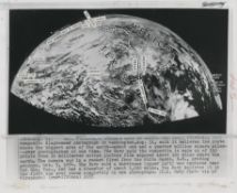 Early and never previously seen views of Earth from space, 1948-1960