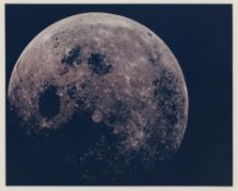 Full Moon, first human-taken image from a previously inaccessible perspective, Apollo 8, Dec 1968