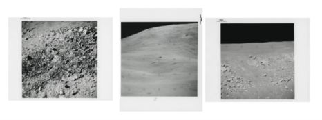 Telephotographs of distant moonscapes, Apollo 15, July-August 1971, EVA 3