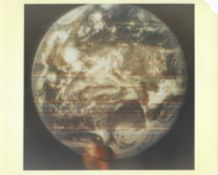 The first crude colour photograph of the entire Earth, DODGE satellite, October 1967