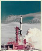 Lift-off, Gemini 6A, 15 December 1965