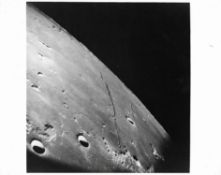 Lunar terrain: Sea of Tranquility, Apollo 8, December 1968