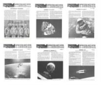Assorted Gemini and Apollo-era NASA ephemera (NASA/Grumman lunar module announcements, NASA Facts)