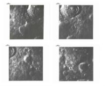 Lunar surface views: Crater Pasteur [four sequential photographs], Apollo 14, February 1971