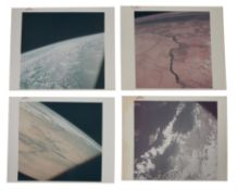 Six views of the Earth from space, including Nile, Atlantic Ocean, Florida, Apollo 9, March 1969
