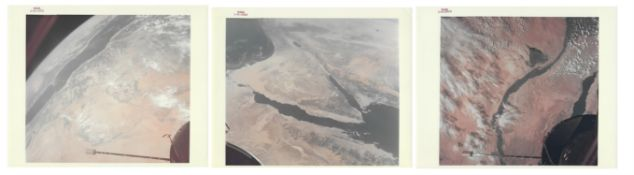 Three views of Earth from space: Sinai, Nile, Dead Sea (...) Gemini 10-12, Jul-Nov 1966