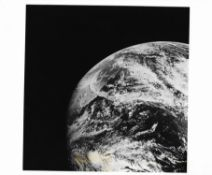 An Earth view: both sides of the Atlantic Ocean and north-western Africa, Apollo 8 December 1968