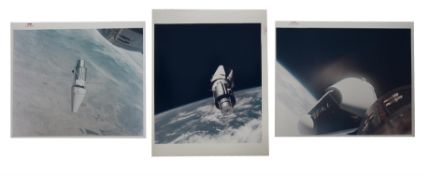 The 'Angry Alligator' [three views], Gemini 9A, June 1966