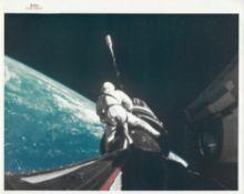 'Space Cowboy' Richard Gordon during first EVA, Gemini 11, September 1966