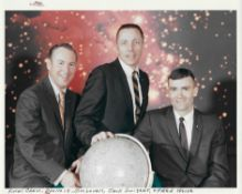 Official portrait of the final crew, Apollo 13, April 1970