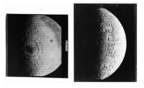 Mare Orientale and the Moon's far side [three views], Lunar Orbiter 4 and 5, May-August 1967