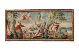A Louis XV Aubusson mythological tapestry, mid 18th century
