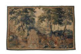 A Flemish verdure tapestry, last quarter 17th century