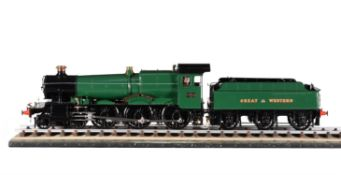 A fine exhibition standard 5 inch gauge model of the 4-6-0 Great Western Railway 7800