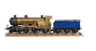 A well engineered 3 1/2 inch gauge model of a 4-4-2 tender locomotive 'Maisie'