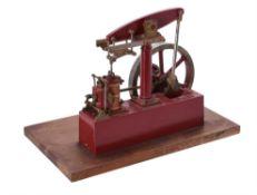 A model of a Stuart Turner beam engine