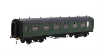 A gauge 1 British Railway corridor passenger coach