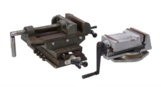 A Chester UK milling vice with crank handle