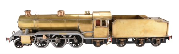A well engineered 3 1/2 inch gauge model of a LBSC 'Bantam Cock' tender locomotive