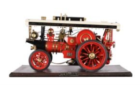A Markie live steam model of a Burrell Scenic Showman's engine 'His Majesty'