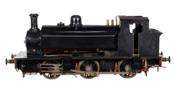 A well engineered 7 1/4 inch gauge model of a 'Holmside' 0-6-0 saddle tank locomotive