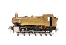 A fine exhibition standard 5 inch gauge model of a 1500 Class 0-6-0 side tank locomotive