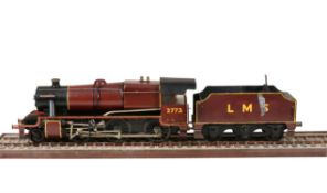 A 5 inch gauge model of a London Midland and Scottish 2-6-0 tender Locomotive No 2773 'Princess Mari