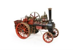 A well engineered 1 ½ inch scale model of a 'Royal Chester' Allchin agricultural traction engine