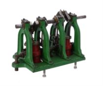 A full size original live steam marine engine