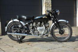 1954 VINCENT TWIN 998CC 'Rapide Series C' MOTORCYCLE